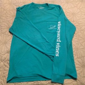 Vineyard Vines men's Long Sleeved Whale T-shirt.